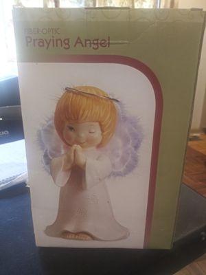 Vintage fiber optic praying angel for Sale in Powder Springs, GA