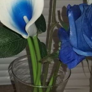 Blue Flower Arrangement for Sale in Hampton, VA