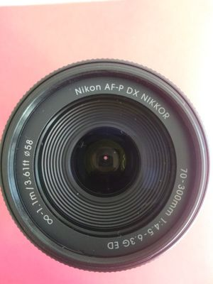 New Nikon lenses Nikkor 70-300mm zoom lens for Sale in San Jose, CA