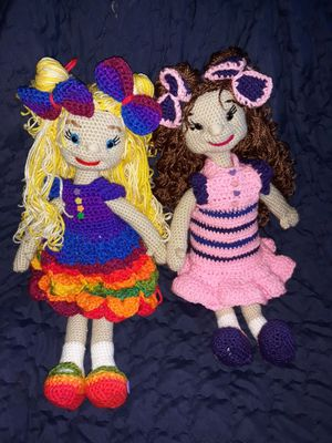 Crochet Dolls for Sale in Chino Hills, CA