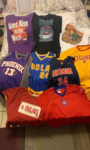 Stitched! NBA NCAA ADIDAS PHOENIX SUNS NIKE ARIZONA WILDCATS UCLA Jerseys Vintage Retro Sports MLB baseball basketball Cubs Iowa State Cyclones ISU H for Sale in Phoenix, AZ