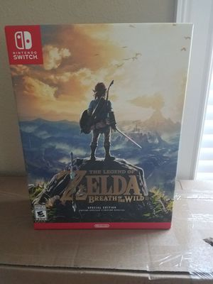 Legend of Zelda Breath of the Wild Special Edition for Sale in Orlando, FL