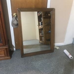 Framed mirror 42 1/2x321/2 for Sale in Waterbury, CT