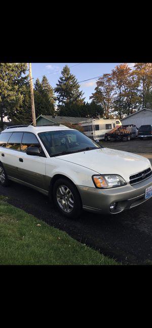 2001 Subaru Outback for Sale in Auburn, WA