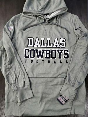 New Nike Dallas Cowboys Practice Circuit Po Hoodie Grey 865997 Sizes S L for Sale in Dallas, TX