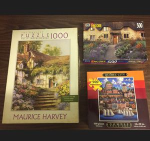 Lots of 3 puzzles games for Sale in Pembroke Pines, FL