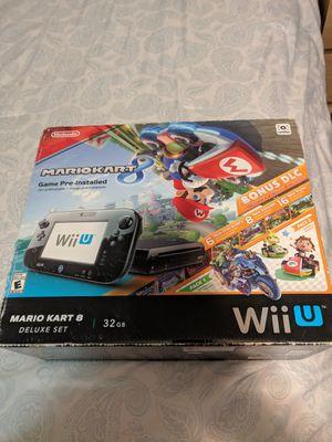 Nintendo Wii u new in box. Deluxe 32 gb for Sale in Elizabeth, NJ