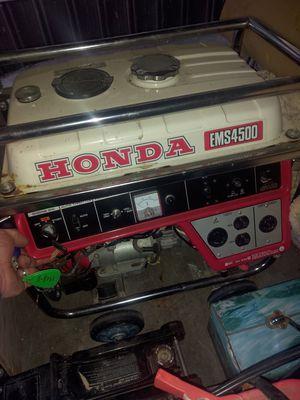 Honda 4500 generator. for Sale in Bremerton, WA