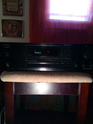 Onkyo. Wrat.Wide-Range.Amplifer.Stereo Receiver.modle {url removed}.{link removed}.CD./input. for Sale in Lorain, OH