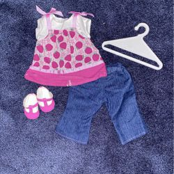 American Girl Bitty Baby Bitty Berry Outfit for Sale in Sutton,  MA
