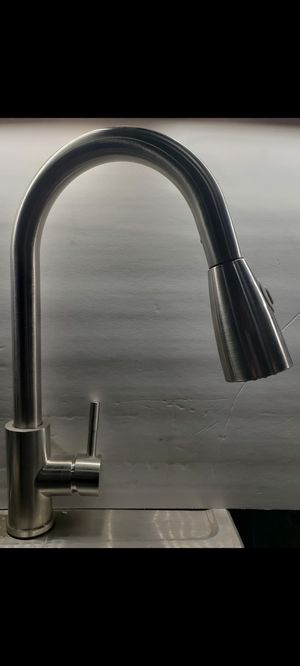 Stainless steel kitchen faucet for Sale in Pumpkin Center, CA