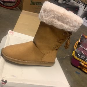 Authentic American Heritage Tan Boots For Women for Sale in Downey, CA