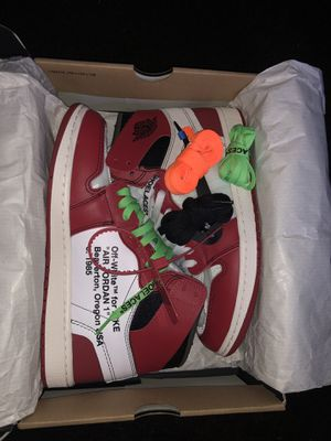 "Off white Jordan 1 ""Chicago's"" for Sale in Holland, OH"