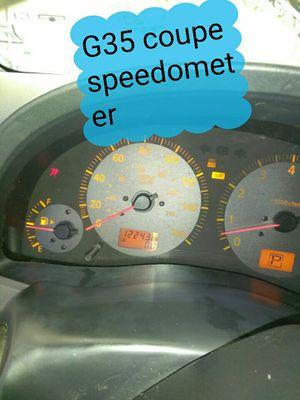 G35 Infiniti coupe speedometer for Sale in San Bernardino, CA
