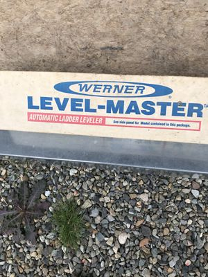 WERNER EXT. LADDER LEG LEVELERS for Sale in Graham, WA