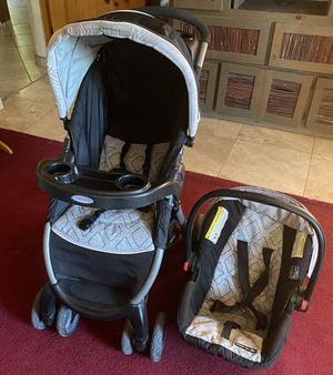 Graco Car seat and Stroller for Sale in Santa Fe, NM