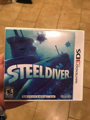 steel driver nintendo 3ds for Sale in San Antonio, TX