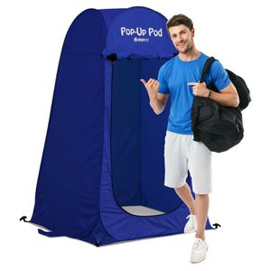 NEW Outdoor Changing Room Beach Shower Restroom Blue Portable Pop Up Tent Camping Hiking for Sale in Las Vegas, NV