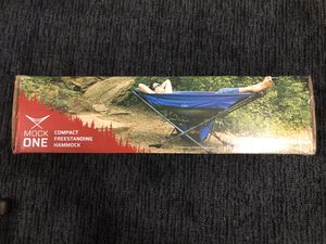 New Mock One Freestanding, Set Up Anywhere Hammock Set for Sale in Lumberton, TX