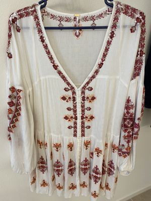 Free people women long blouse dress size S for Sale in Ontario, CA