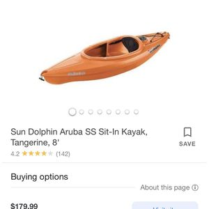 Sundolphin Kayak for Sale in Fort Worth, TX