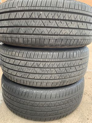 6 Tires of 245/59R 20 Continental CrossContact LX™ Sport for Sale in Denver, CO