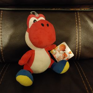 """Little Buddy 1389 Super Mario All Star Collection Red Yoshi Plush, 7"""" for Sale in Hawthorne, CA"""