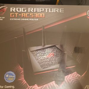 Asus Rog Rapture Ct-ac 5300 Gaming Router for Sale in Dublin, CA