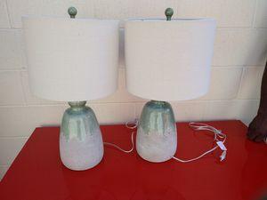 Light Green lamp set for Sale in Norcross, GA
