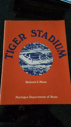 Cool old book on Tiger Stadium for Sale in Grosse Pointe, MI