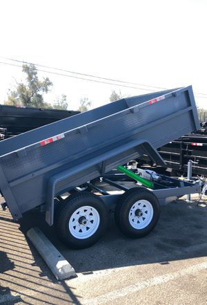 8x10x2 DUMP TRAILER for Sale in Norco, CA