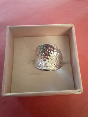 Size 8 silver ring for Sale in Tacoma, WA