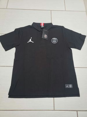 Psg and manchester United polo shirt size M $20 each for Sale in Los Angeles, CA