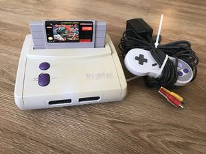 Super Nintendo with street fighter 2 for Sale in Houston, TX