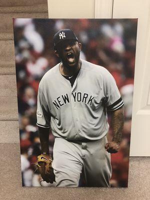 Yankees CC Sabathia - Canvas Wrap 16 x 24 for Sale in Ashburn, VA