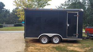 8.5 x16 enclosed trailer for Sale in Temple, GA