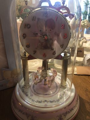 Precious moments clock for Sale in Waterbury, CT