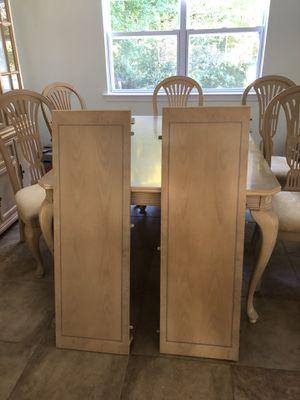 Whitewash Oak Dining Room Set for Sale in NJ, US