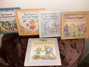 Vintage 1984-1986 Muppets and Fraggle Rock kids books for Sale in Arlington, TX