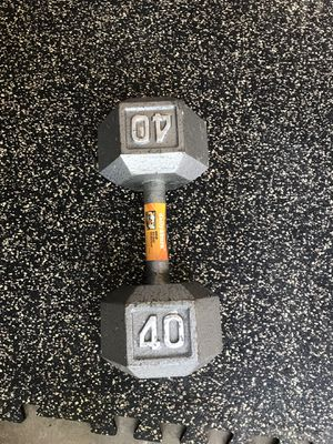 40lb Dumbbell for Sale in Hazelwood, MO