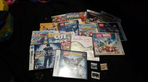 Nintendo games (Minecraft and super Mario bros 2 and super Mario maker has been sold) for Sale in Salt Lake City, UT
