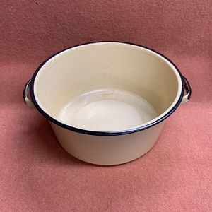 "Vintage Yellow Pot 9.25""x4"" Use For Garden Or Craft for Sale in Danville, CA"