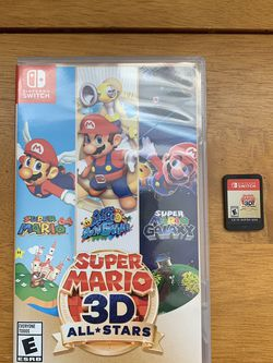 Nintendo Switch Super Mario 3D All-Stars for Sale in Alexandria,  VA