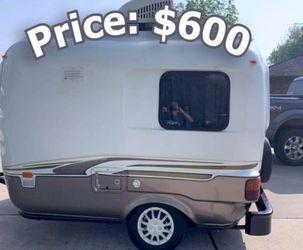 13ft wheel Rare vintage camper - $600 for Sale in Tyler,  AL