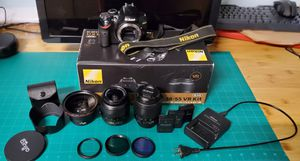 Nikon D3200 DSLR camera (bundle) for Sale in San Carlos, CA