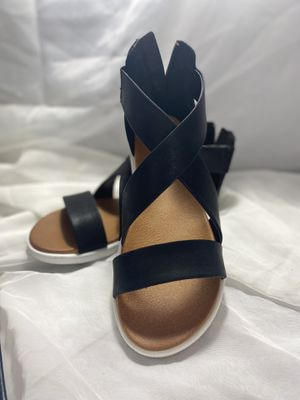 MIA patty black sandal NEW. Usa sz 7 womens for Sale in Culver City, CA