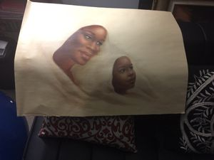 Large mother and child print for Sale in Virginia Beach, VA