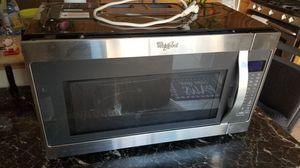 Whirlpool Microwave Oven - Above Range Model WMH53520CS for Sale in Las Vegas, NV