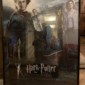 Harry Potter And Goblet Of Fire Movie Poster for Sale in Phoenix, AZ