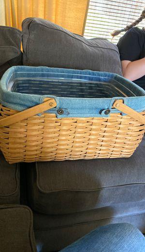 Vintage Longaberger basket for Sale in Yorba Linda, CA